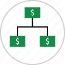 business, graph, money, report, strategy icon