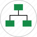 business, graph, online, report, strategy icon
