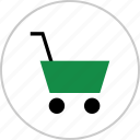 cart, internet, online, pay, shop, shopping, web icon