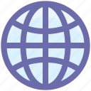 earth, global, international, map, planet, world icon