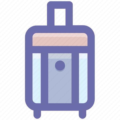 attach case, bag, luggage, luggage bag, suit case, travel bag icon