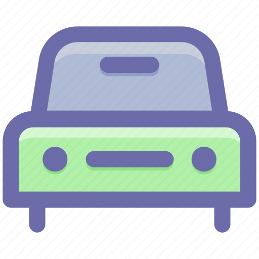 auto, car, front, front view, generic, sedan, vehicle icon
