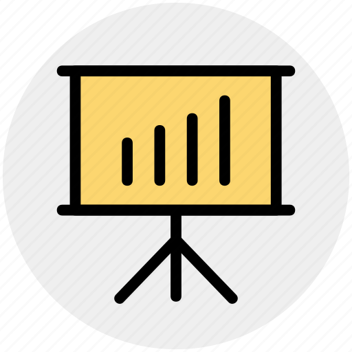 analysis, analytics, board, business, graph, graph board icon