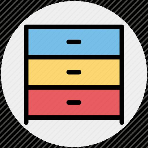 cabinet, closet, drawer, furniture, wardrobe icon