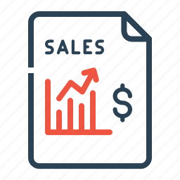 chart, dollar, finance, graph, growth, sales, stock icon