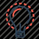 bulb, business, idea, innovative, investment, money, startup
