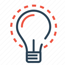 bulb, business, idea, innovative, investment, money, startup icon