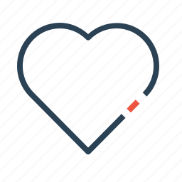 heart, like, management, product, rating, reputation, review icon