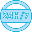 24h, 24 hours, support, service, information, ecommerce