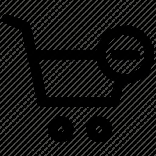 cart, delete, e-commerce, remove, remove cart, shopping icon