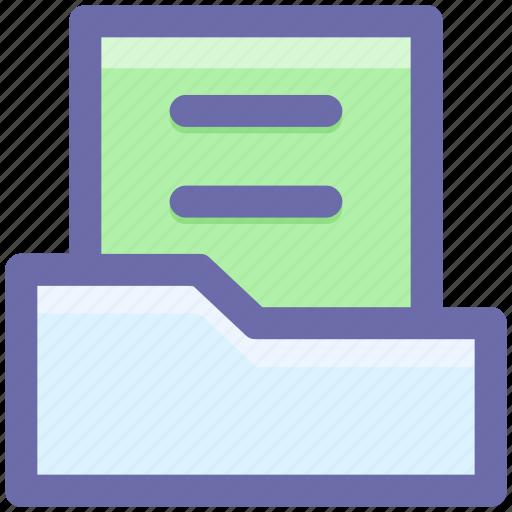computer folder, doc, files, folders, report icon