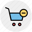 cart, delete, e-commerce, remove, remove cart, shopping icon