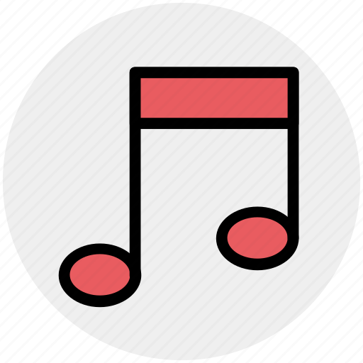 listen, melody, music, musical note, note, sound icon