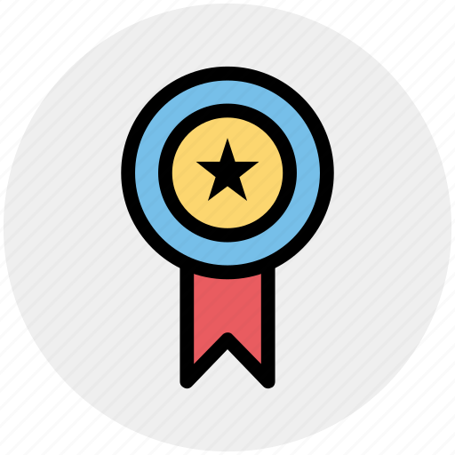 award, medal, medal star, prize, star icon