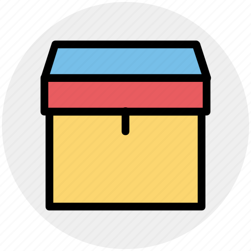 Box, delivery package, delivery box, delivery cardboard box, package icon - Download