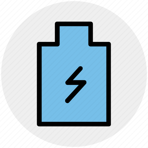battery, charge, charging low, level, status icon
