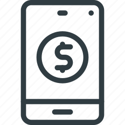 mobile, online, pay, payment, shopping icon
