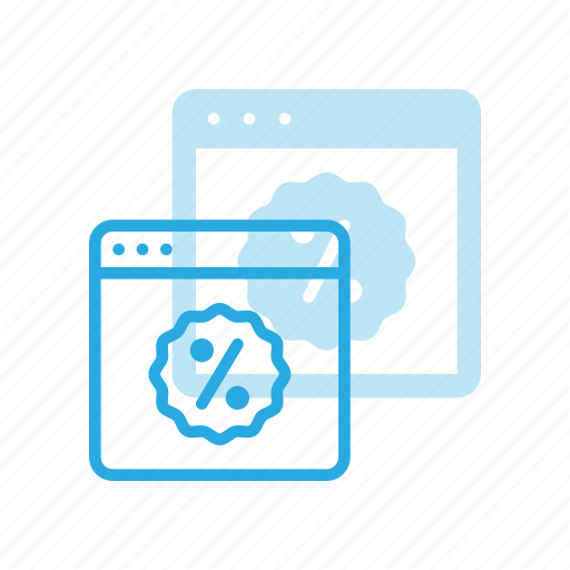 code, commerce, coupon, discount, online, shopping, sticker icon