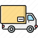 delivery, truck, transport, vehicle, shipping