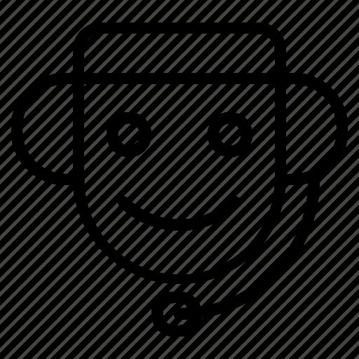 customer, customer service, support icon