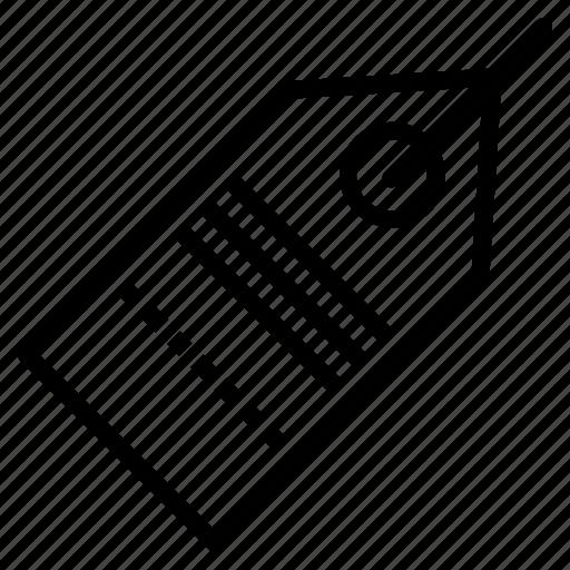 label, price icon
