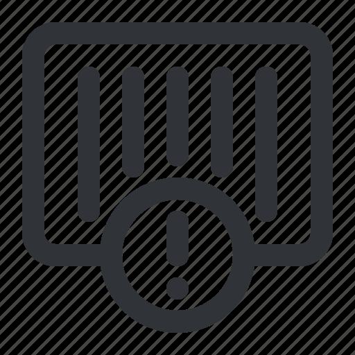 ecommerce, notification icon