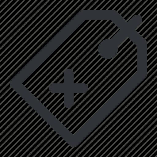 label, remove, shopping, tag icon