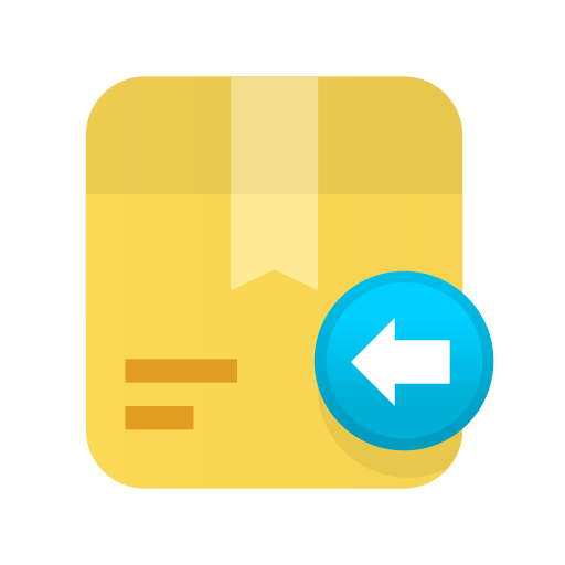 box, carton, delivery, ecommerce, package, return, shipping icon