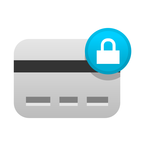 card, creditcard, ecommerce, payment, secure, security, shopping icon
