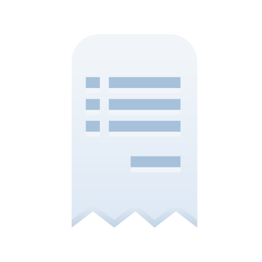 Ecommerce, payment, receipt, shop, shopping, store icon - Free download