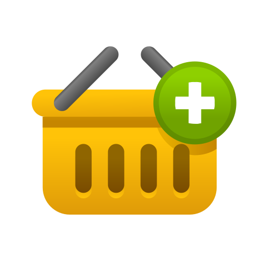 add, bag, basket, cart, ecommerce, shopping, store icon