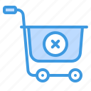 cart, commerce, ecommerce, remove, sale, shopping icon