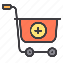 add, cart, commerce, ecommerce, sale, shopping icon