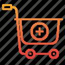 add, cart, commerce, ecommerce, sale, shopping