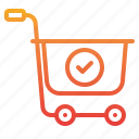 cart, check, commerce, ecommerce, sale, shopping icon