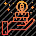 coins, commerce, ecommerce, payment, sale