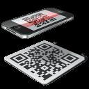 code, iphone, qr