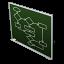 chart, flow icon