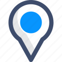 gps, location pointer, maps and location icon