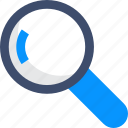 magnifying glass, search, zoom