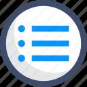 interface, list, menu, order