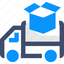 free delivery, shipping, truck