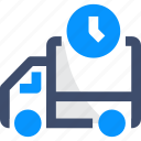 logistics, scheduled delivey, shipping, transport