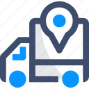 shipping, gps, tracking, location pin, track delivery icon