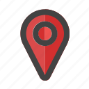 location, map, marker, pin, place, point, pointer