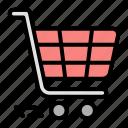 shopping, cart, trolley, commerce, ecommerce