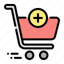 shopping, cart, purchase, ecommerce, trolley