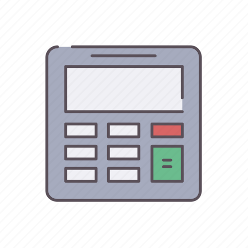 calculating, calculator, communication, device, digital, gadget icon
