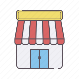 business, dollar, graph, online, shop, store icon