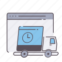 business, ecommerce, internet, shipping, shop, web icon